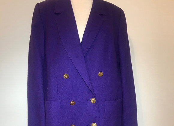 Harlan Purple Wool Jacket