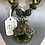 Thumbnail: Large stone medallion necklace