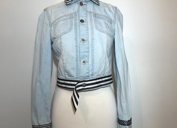 Tommy Hilfiger denim crop jacket