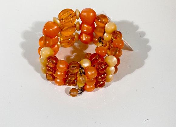 Orange memory bracelet