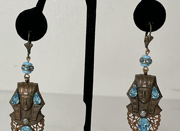 Egyptian dangle earrings