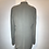 Thumbnail: Emanuel Ungaro beige knitted fully lined front pockets long jacket.