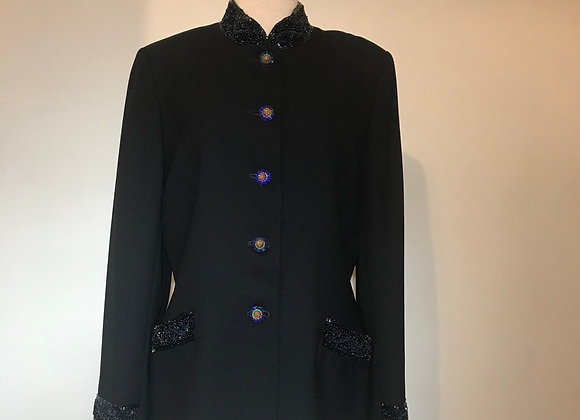 John Meyer Navy bead Jacket