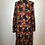 Thumbnail: Bedford Fair blue/gold midi coat dress