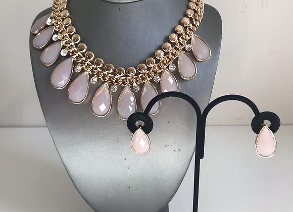 Pink crystal 3 pc set