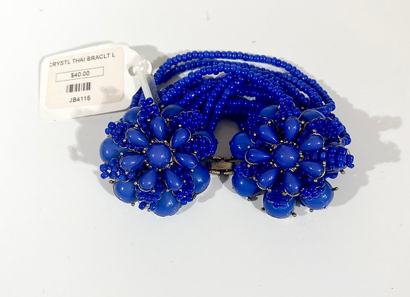 Assorted Crystal & Bead Bracelets