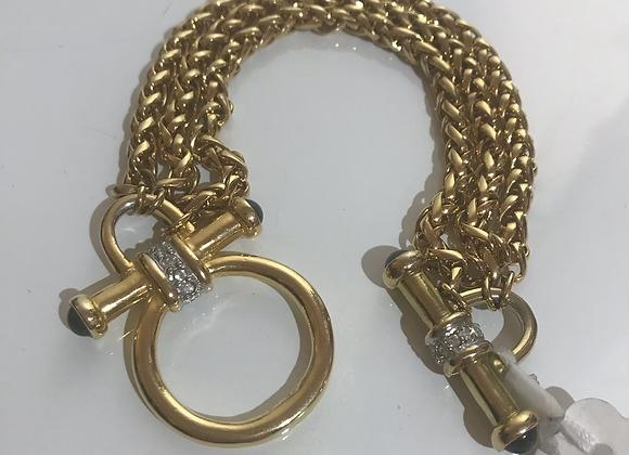 Nolan Miller chain bracelet
