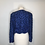 Thumbnail: Richilene blue beaded blazer