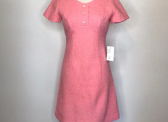 1960s baby pink dress