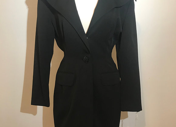 PSI by Alvin Bell black wood coat