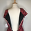 Thumbnail: 1950s red tapestry dress