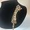 Thumbnail: Gold tone crystal pin