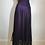Thumbnail: Sari style deep purple wrap skirt