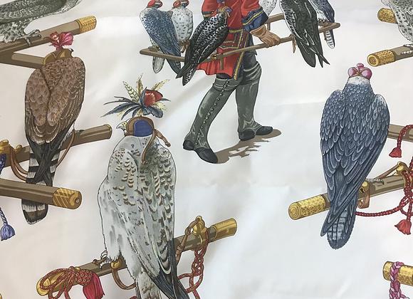 Authentic designer silk scarf