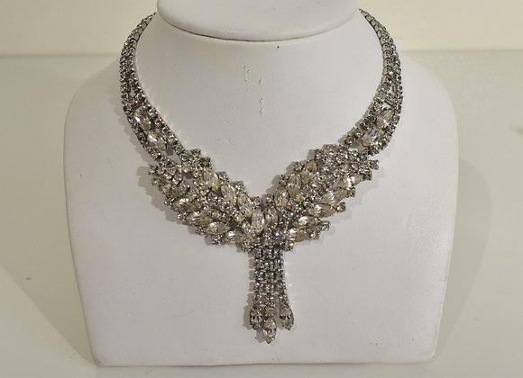 1920s Style Crystal Choker