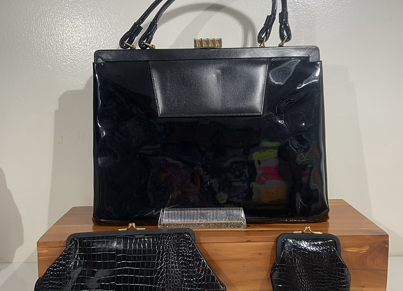 Lewis Patent Leather Bag