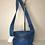 Thumbnail: Carol Miller Blue leather bag