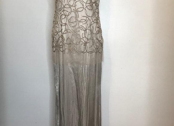 Vera Wang champagne dress