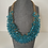 Thumbnail: Blue crystal necklace
