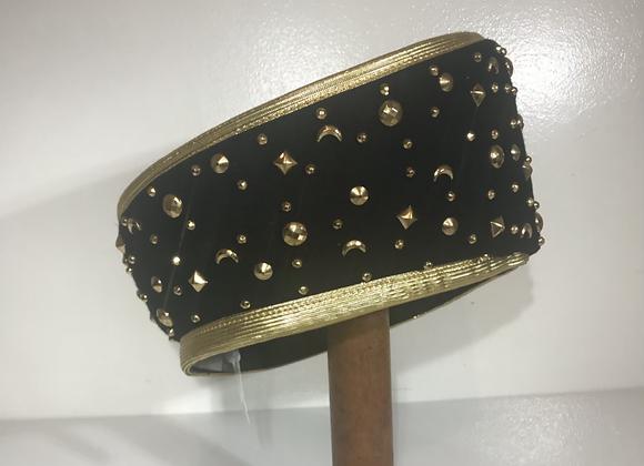 Jack Mc Connel black/gold hat