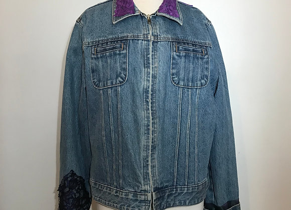 The Gap Denim Zipper Jacket