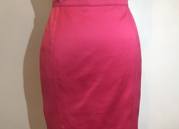 Designer bright pink skirt