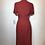 Thumbnail: 1950s Red/black checkered dress