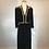 Thumbnail: 1950s Carolyn NY black dress