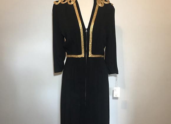 1950s Carolyn NY black dress
