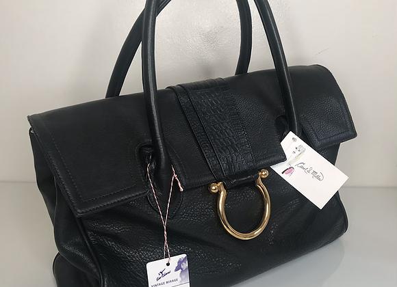 Carol Miller black large purse