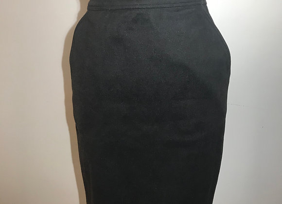 Designer 365 Black Denim Skirt