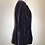 Thumbnail: Louis Feraud purple velvet open blazer