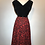Thumbnail: 1950s Estate black velvet dress