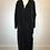 Thumbnail: 1940-50ss black velvet opera coat