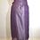Thumbnail: Pale blue/violet wrap skirt
