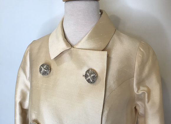 Peter Raney's raw silk coat