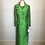 Thumbnail: Green silk 2 pc set
