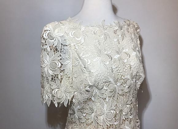 Miss Elliette cream dress