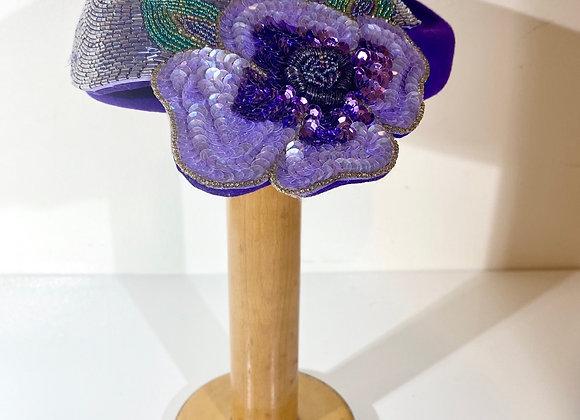 Adolfo II Purple Hat