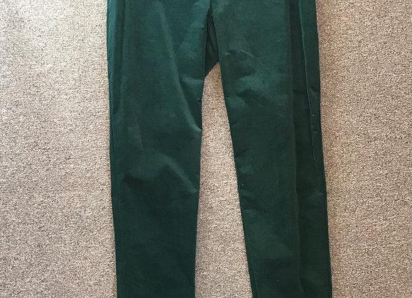 Theory green corduroy pants