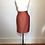 Thumbnail: Mary McFadden orange silk skirt
