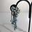 Thumbnail: 1950s turquoise earrings