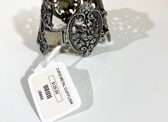Cupid metal cuff bracelet