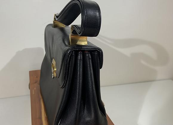 """""""Koret"""" black leather bag"""