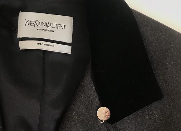 Designer wool blazer