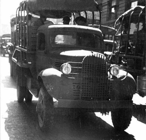 1941 Army Truck on parade