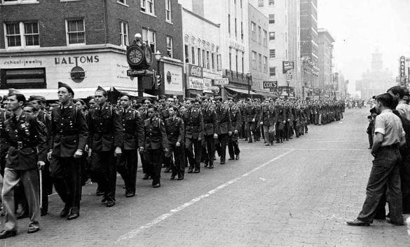 1943 Fort Worth Armistice Parade