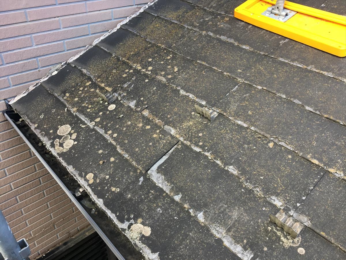 2階から見える1回の屋根の状態からも屋根の状態を確認できます