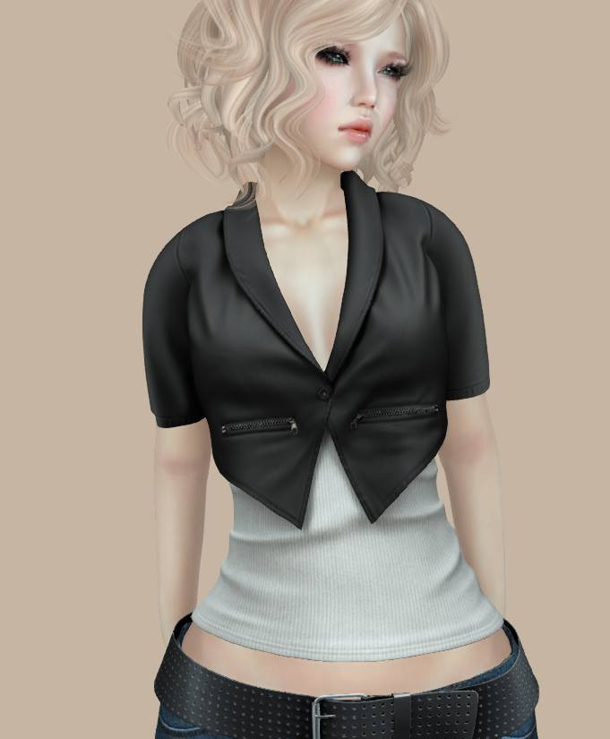 WIP - Leather Vest w/ Shirt