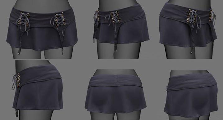 WIP - New Skirt